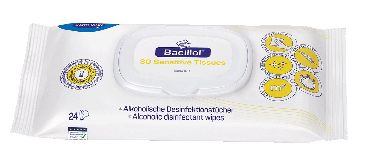 Bacillol® 30 Tissues, 24 Tücher