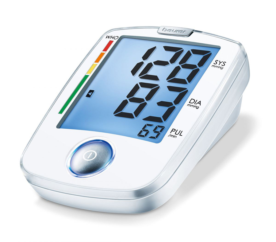 Upper-arm blood-pressure monitor