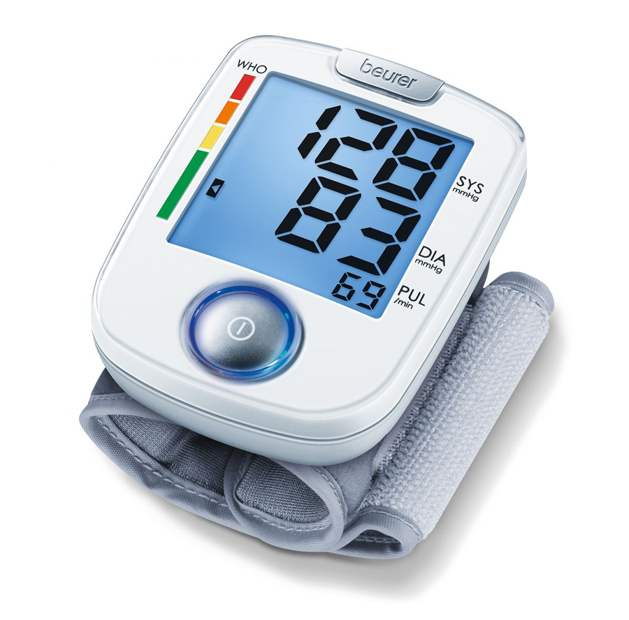 Wrist blood-pressure monitor